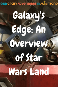 Galaxy's Edge will take Star Wars Fans right into the center of the action. It's the only place where you can become a part of the ongoing Star Wars Saga.