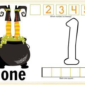 Witch Feet Printable Mats 1-5