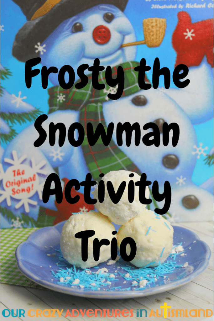 Frosty the Snowman Activity Trio