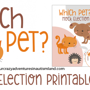 Mock Election Printable Pack