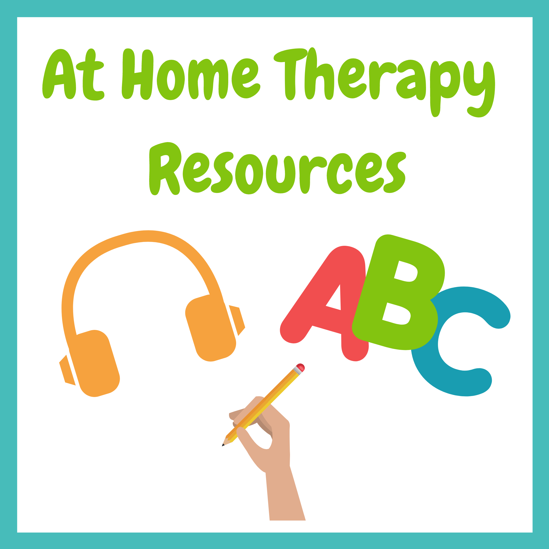 At Home Therapy Resources